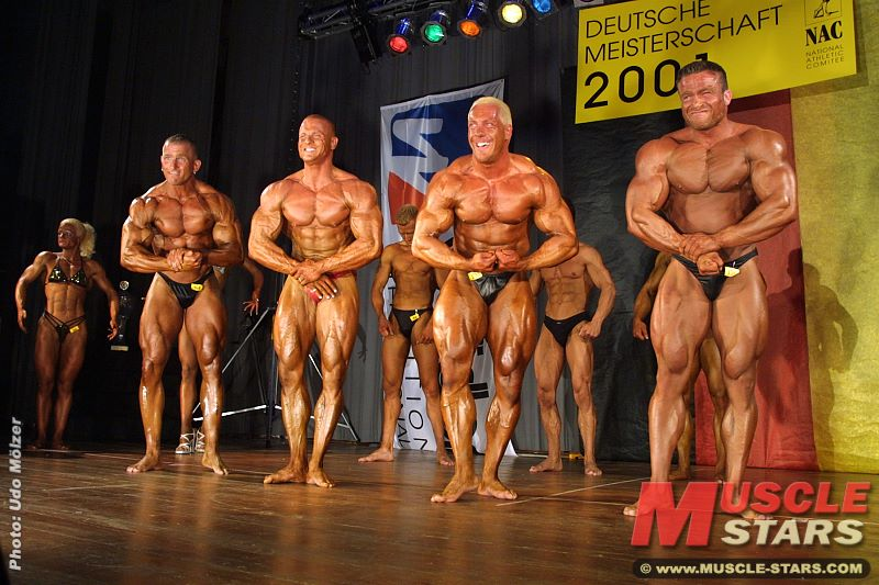 Bodybuilding NAC Deutsche 2001
