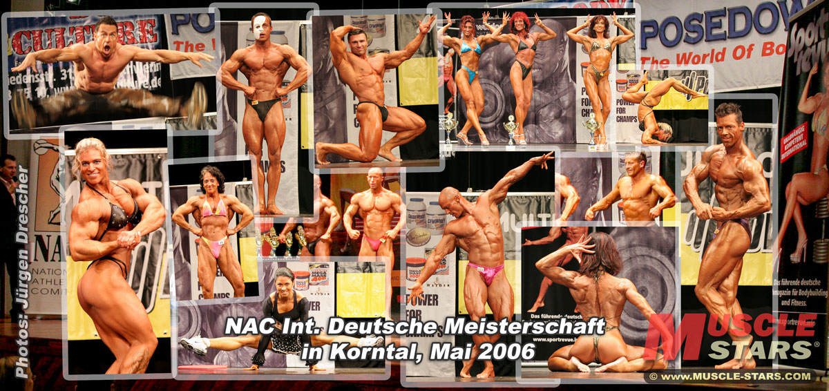 NAC Int. Deutsche Meisterschaft Fitness und Bodybuilding 2006 in Korntal