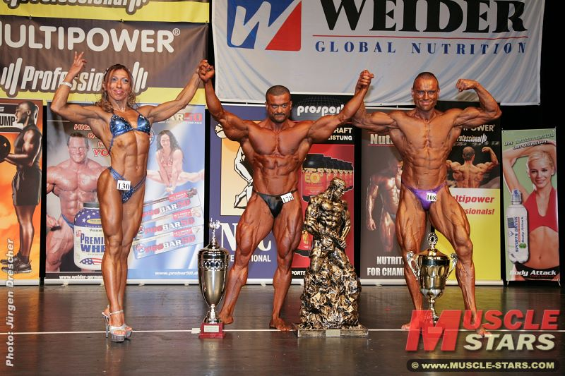 NAC Ms. & Mr. UNIVERSE 2008 in Hamburg, Germany