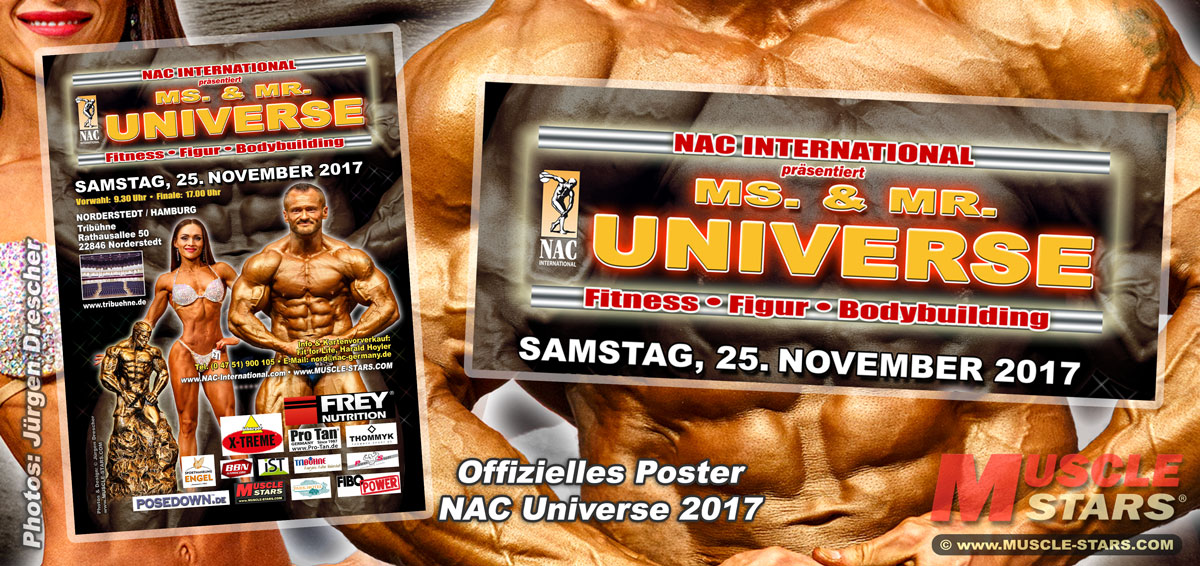 Poster NAC Ms. & Mr. UNIVERSE 2017