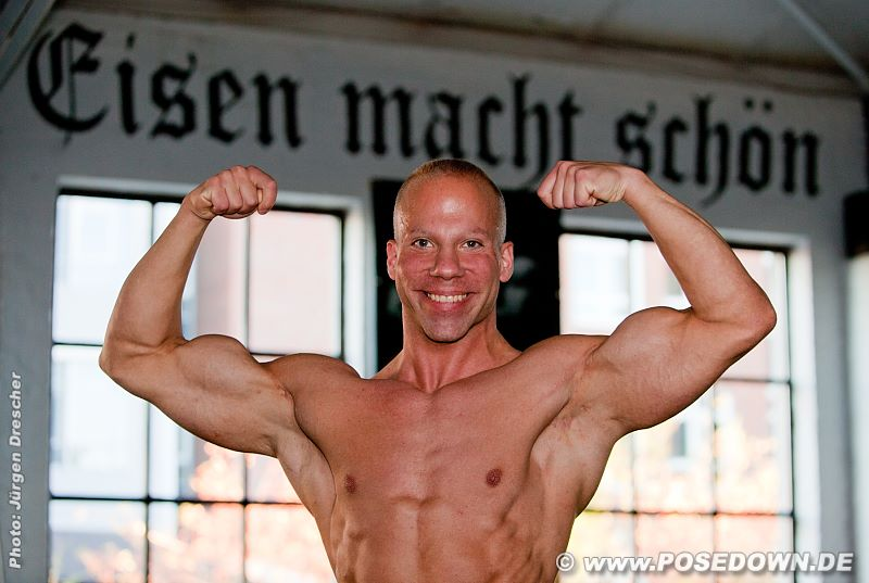 Bodybuilder Mark Böcker